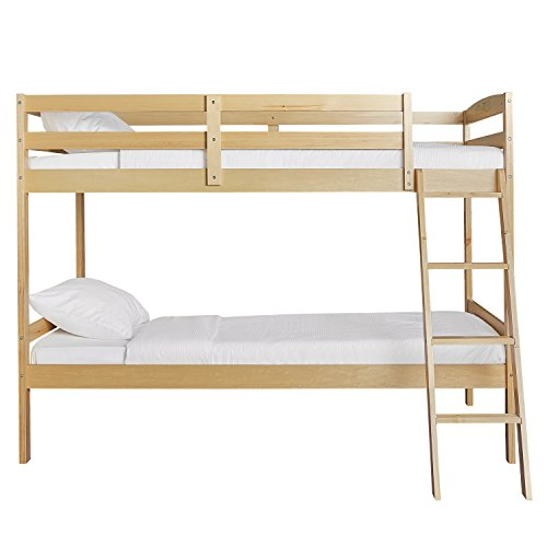 Dream On Me Taylor Twin Over Bunk Bed, Natural