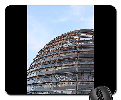 Mouse Pads - Reichstag Glass Dome Dome Berlin Sky Architecture