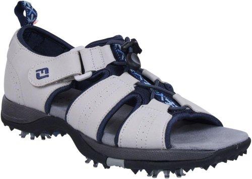 FootJoy Greenjoys Women's Sandal - 48361- 11 (M) Grey/Blue