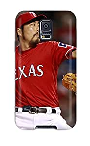 RrLKPmB312beMCW Tpu Case Skin Protector For Galaxy S5 Texas Rangers With Nice Appearance