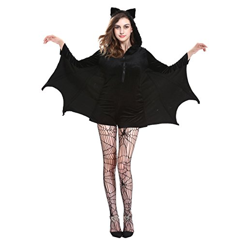 Bat Costme XL (Bat Halloween Makeup)