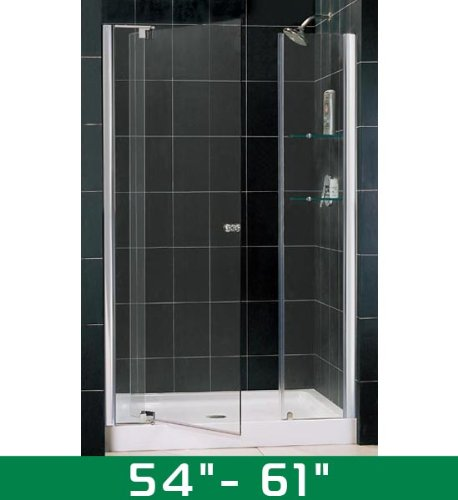 DreamLine Pivot para puerta de ducha de cristal Allure dl61-shdr ...