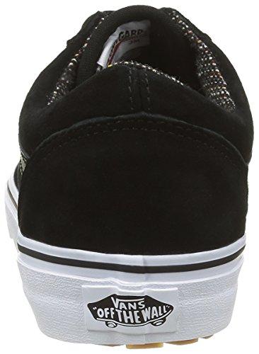 Vans Old Skool MTE, Scarpe da Ginnastica Basse Unisex-Adulto Nero (Mte Black/Tweed)