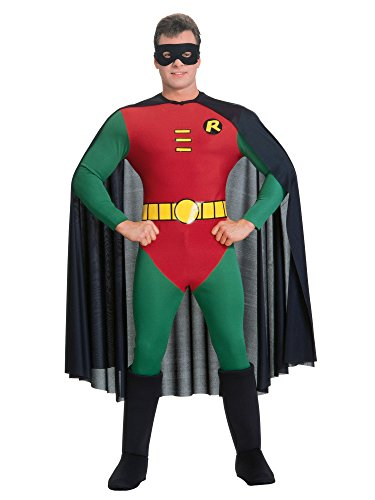 (Rubie's Classic Batman Deluxe Robin, Red/Green, Medium)