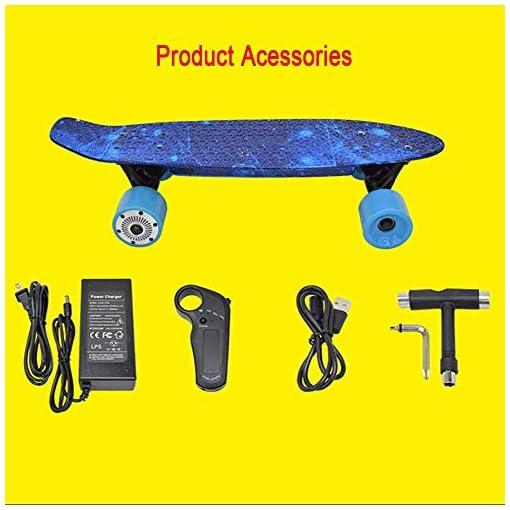 Électrique Longboard, électrique Maple Longboard, Skate-board électrique avec télécommande for adultes, cas de batterie personnalisé, ergonomique à distance, Conseil motorisé for Carving skateboard ad