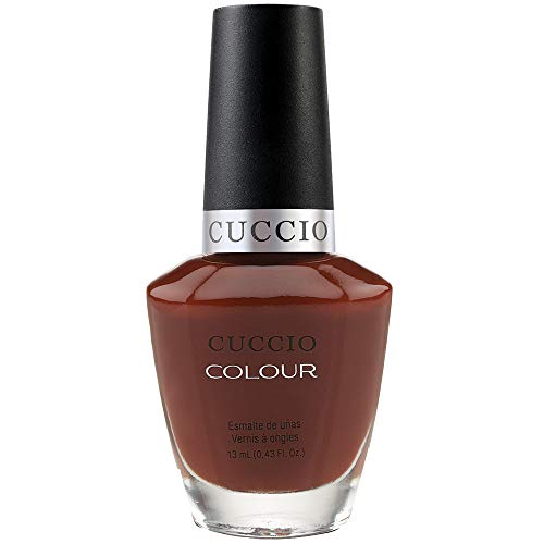干渉するシャックル詩Cuccio Colour Gloss Lacquer - Brew Ha Ha - 0.43oz / 13ml