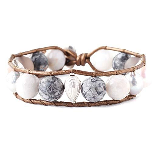 Pearl Single Wrap Bracelet - Chan Luu Grey Mix Freshwater Cultured Pearl Single Wrap Bracelet