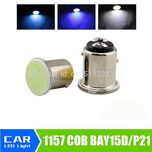 1157 Bay15d COB P21/5w Led 12SMD Super White 12v Bulbs ICE Blue RV Trailer Truck Car Styling Light Parking Auto Led Car Lamp White
