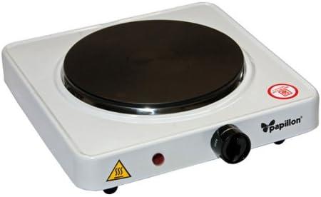 Hornillo eléctrico de camping 1 placa de cocción 185 mm 1500 ...