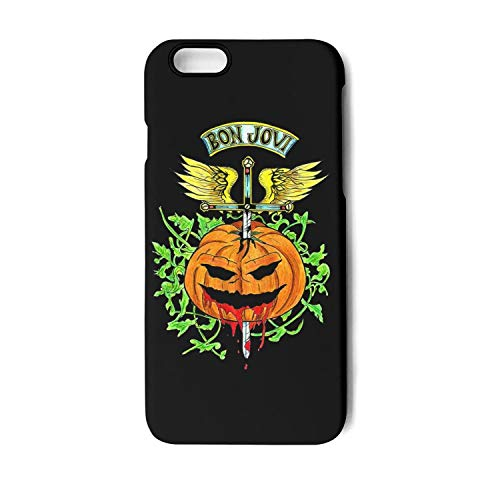 iPhone 6/6s Phone case Cool iPhone 6s Cover Bon-Jovi-Halloween-Logo- iPhone 6 Basic Cases Mobile iPhone Covers Heavy Duty Shock-Absorbing ()