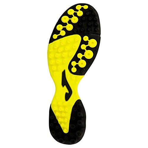 Joma - Zapatillas de fútbol sala de Material Sintético para hombre NERO-FLUO