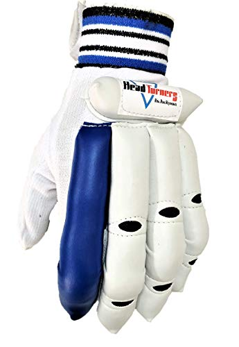 HeadTurners Cricket Batting Right Hand Gloves- Featherlite for Boys, Youth and Mens