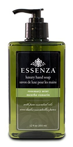 (Essenza Hand Soap Rosemary Mint, Dark Green, 12 Ounce (Pack of 6) )