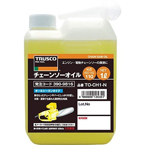 TRUSCO(トラスコ) チェーンソーオイル1L TO-CHN-1