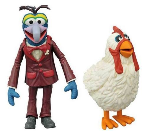 Diamond Select Toys The Muppets: Gonzo & Camilla Series 1 Action Figure Set ...