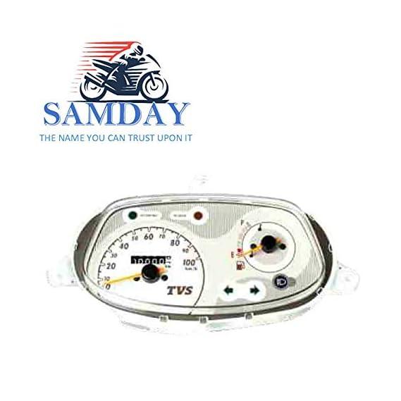 SAMDAY Speedometer Compatible for TVS SCOOTY PEP PLUS (2005-2008)- 70668