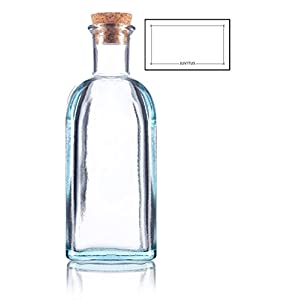 418vtBEONYL._SS300_ Large & Small Glass Bottles With Cork Toppers
