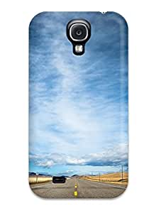 High-end Case Cover Protector For Galaxy S4(road And Sky)