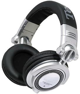 Technics - Cuffie professionali da DJ dotate di cavo con microfono in-line  per chiamate 60172ab56380