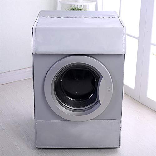 Dust proof and Anti-aging Asixx Washing Machine Cover Waterproof Washing Machine Cover Sunscreen Cover Washer Dryer Protection Cover