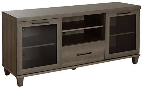 Glass Maple Tv Stand - South Shore 9074662 Adrian Stand for Tvs Up to 60'',Gray Maple