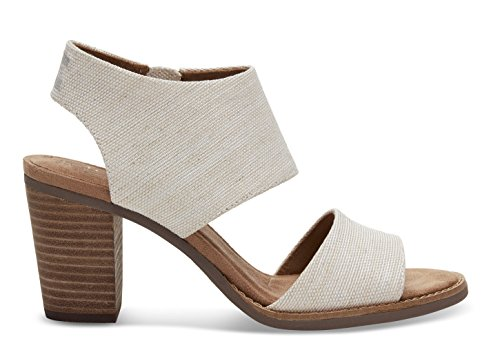 Toms Women's Majorca Cutout Sandal - Natural Yarn-dye, 6 B(M) US