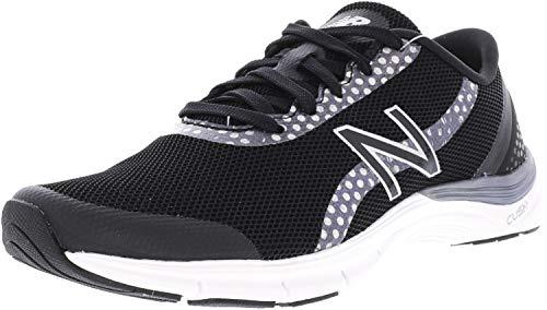 New Balance Women's 711 v3 Cross Trainer, Black/Silver, 6.5 W -