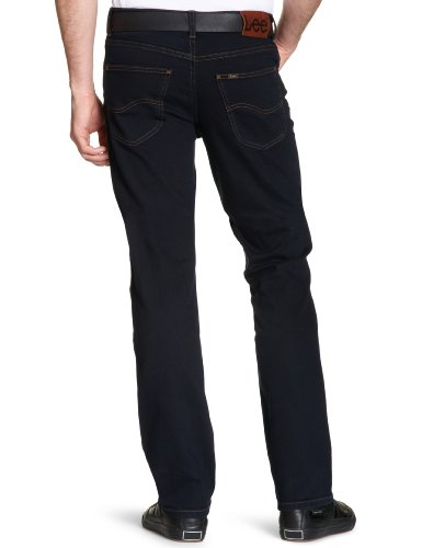 Blu Black Lee Jeans Wrangler Brooklyn Uomo Da blue Straight Straight wpCxHq0C7