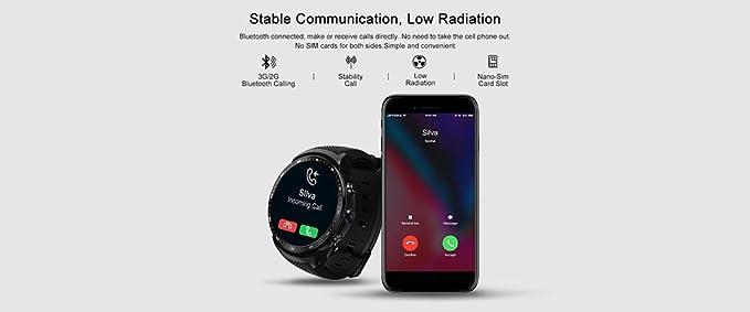 JIANGfu Zeblaze Thor Pro 3G Smartwatch, GPS Bluetooth 4.0 1 ...