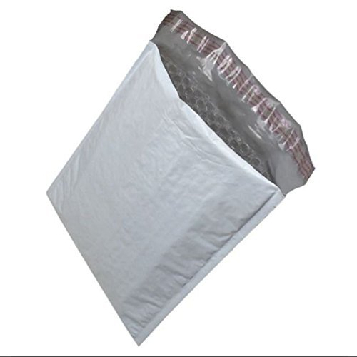 Price comparison product image Fashion 7 50PCS 14.3X19 Poly Bubble Padded Mailers Envelopes Bags with Self Adhesive by Letter Love Fashion Furniture