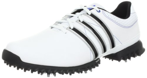 Adidas White Lite Golf Shoe (adidas Men's Tour360 Lite Golf Shoe,Running White,11.5 M)