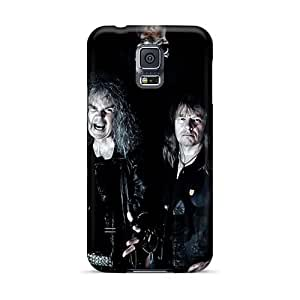 Samsung Galaxy S5 Uex8753MXwm Allow Personal Design Realistic Grave Band Skin Protective Hard Phone Case -SherriFakhry