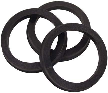 - 66.9mm Poly-Carbonate Plastic MX1010 73mm Hub Centre Rings Set of 4