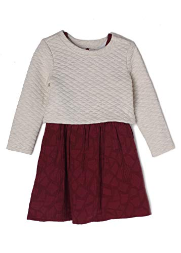 MABEL AND HONEY Sugar Plum Quilted Sweater and Dress