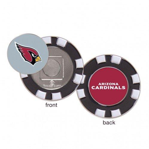 Arizona Cardinals Poker Chip Golf Ball Marker by WinCraft