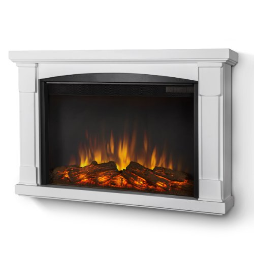 Real Flame Brighton SLIM LINE Wall-hung Electric Fireplac...