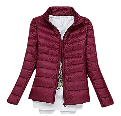 13 Down Women's Puffer Parka Winter Stand Packable TTYLLMAO Jacket Quilted Jacket Collar PwRnU
