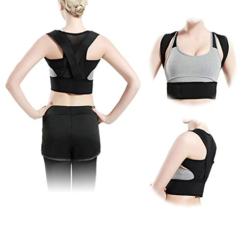 Posture Corrector Clinically Proven to Improve Bad Relieve Upper Neck & Back Pain Brace