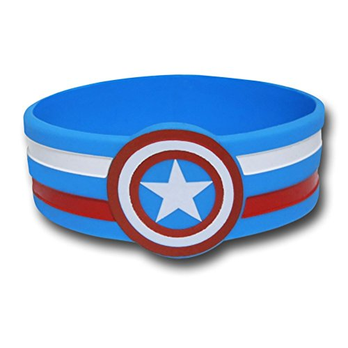 Marvel comic Retro Captain America Shield Rubber (Captain America Merchandise)