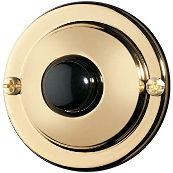 Nutone Pb67pb Wired Unlighted Door Chime Push Button