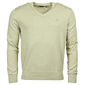 Polo Ralph Lauren Men's Pima Cotton V-Neck Sweater