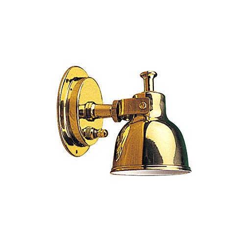 - Sea Dog 400400-1 Small Brass Berth Light