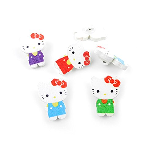 hello kitty buttons for sewing - 1