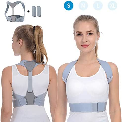Posture Corrector for Women Men Anoopsyche Designed Upper Back Brace for Clavicle Support Helps to Improve Posture, Prevent Slouching and Upper Back Pain Relief(S)