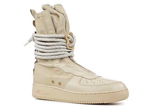 NIKE SF Air Force 1 Hi Mens Shoes Rattan aa1128-200