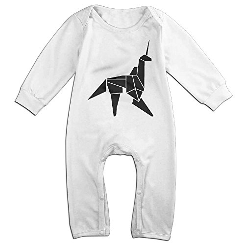 Devil Costume Ebay Woman (Infant Baby's Paper Unicorn Long Sleeve Climb Romper 6 M)