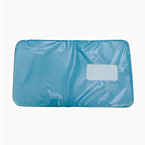 Summer Chillow Cooling Pillow, Tubwair Sleeping Pad Cool Pillow Mat Reduces Migraines Hot Flashes and Fevers Soft Flexible Pad, Non-Toxic, No Electricity Soft PVC Cool Pad
