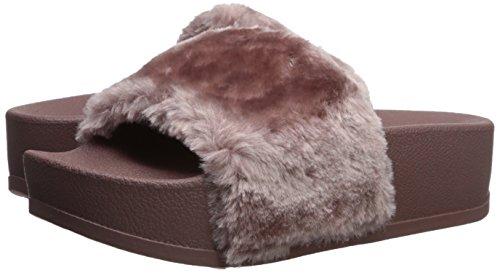 Steve Slide Women''s p Sandal Mauve Madden Softey xx1gAvq