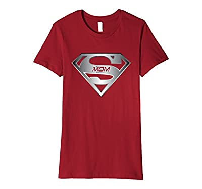 Super mom funny shirt superhero mother day T-shirt