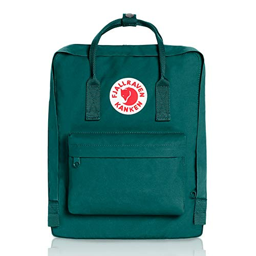 Fjallraven - Kanken Classic Pack, Heritage and Responsibility Since 1960, One Size,Ocean Green